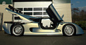 The Mosler MT900S road car with dramatic scissor doors