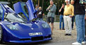 The Mosler MT900S supercar draws a crowd wherever it goes